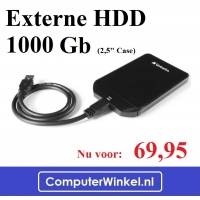 Externe HDD 1000 Gb