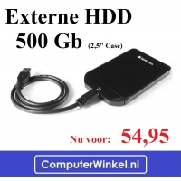 Externe HDD  500 Gb
