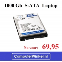 Laptop Harddisk 1000Gb