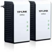 TP-Link Powerline Adapter 500Mbps - Starterkit / Ethernet 1G